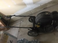 black and yellow push mower Mississauga, L5M