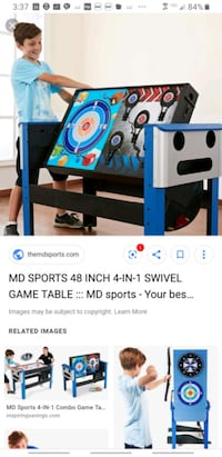 Unopende MD Sports 48 inch 4in1 swivel game table Fairfax, 22032