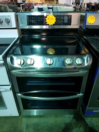 LG Electric range with double oven