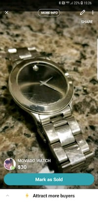 MOVADO WATCH  Deptford Township, 08096