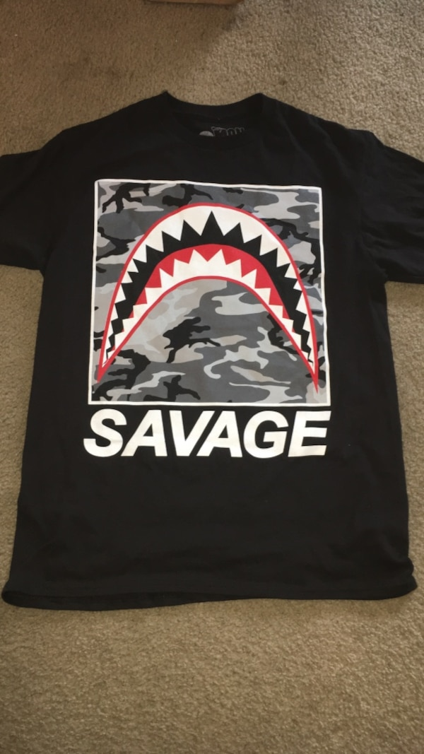 0a3d7e94 Used Shark Mouth Savage Shirt( Medium) for sale in Indianapolis - letgo