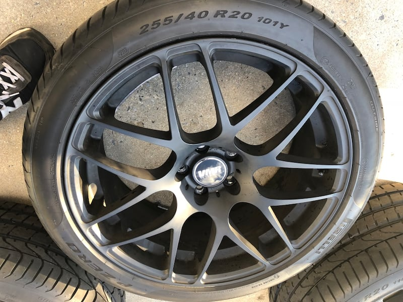 "RIMS ONLY 20"" VMR V710 RIMS 1"
