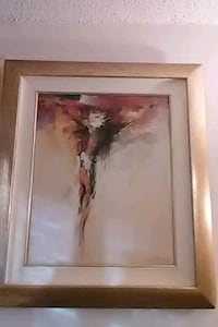 brown wooden framed painting of woman Washington, 20032