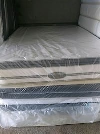 white and gray bed mattress Opa-locka, 33054