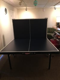 Ping pong table in new condition