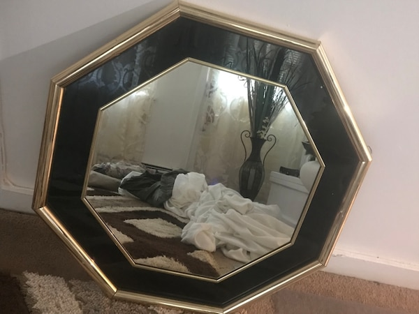 Black and Gold mirror