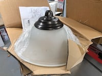 Pendant light fixture bronze Leesburg, 20175