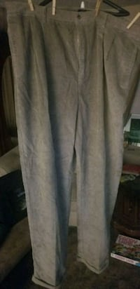 Big & Tall Grey Cordouroy Pants Las Vegas, 89107