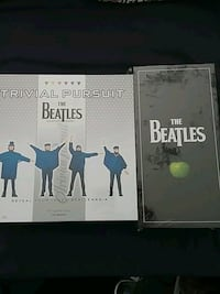 Beatles albums box set and a Trivia game..unopened