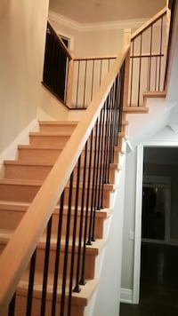 new stairs and refinish existing Burlington