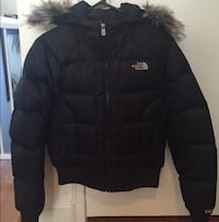 For sale:XS black north face puffer jacket with faux fur trimmed hood Antelope, 95843