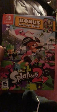 Splatoon 2 with strategy guide and stickersfor the Nintendo switch Calgary, T2J 1H4