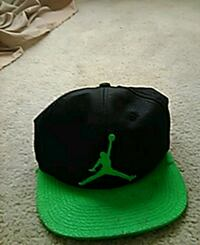 black and green Air Jordan fitted cap Cleveland, 44105