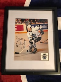 Dave Andreychuck signed and framed photo  Châteauguay, J6K 2M7