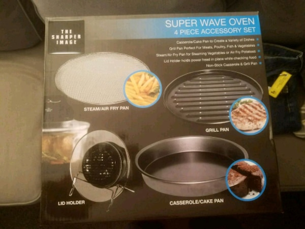 Used Impact You Sharper Image Digital Wave Oven Accesso For Sale In