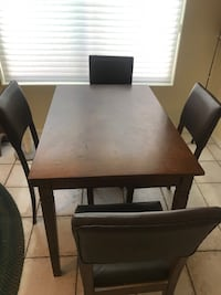 Kitchen Table + 4 Chairs  Glendale, 85308