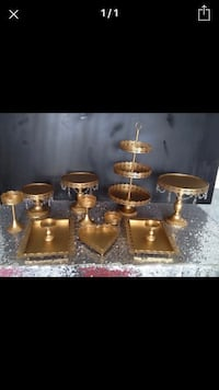 Set of Gold Stands for Rent Edmonton, T5Z 3J2