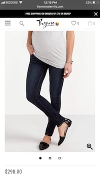 PAIGE Maternity Skinny Jeans Coquitlam, V3K 0A9