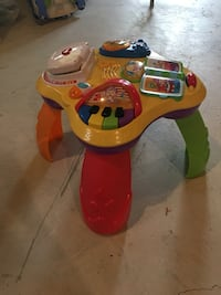 Fisher Price sit-stand table  Richmond Hill, L4E 0M7