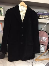 black notch lapel suit jacket Houston, 77077
