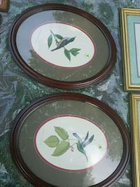 two green and white flower painting Newport News, 23606