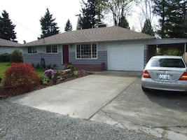 Rent 3 br 1 bath house in Federal Way