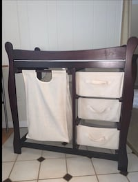 Wooden baby changer Annandale