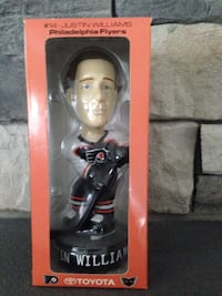 Bobble Head  Flyers Justin Williams