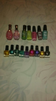 assorted color nail polish lot