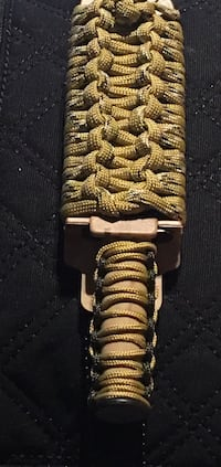 Paracord sheath wrap