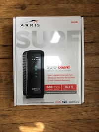 Arris surfboard (xfinity, Cox, and more) Manchester, 17345