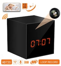 Panoraxy Mr Cube Mini WiFi Hidden Camera Clock with Night Vision Toronto, M5V 3R9
