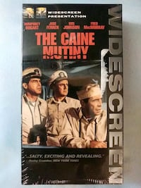 The Caine Mutiny vhs