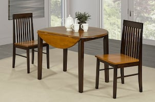 Brand new 3pcs Solid wood Dinette set