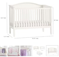 baby's white wooden crib Hollywood, 33312