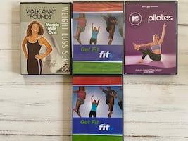 Exercise and Pilates DVD's