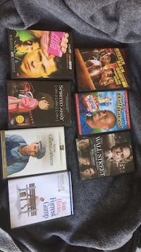 DVD Movies, $5 each Vancouver, V6B