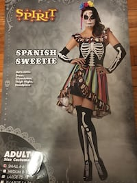 Day of the dead Halloween costume  Calgary, T2E