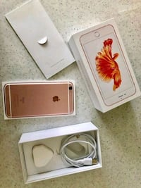 rose gold iPhone 6s with box College Park, 20740