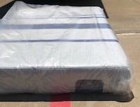 white and blue bed mattress Irving, 75062