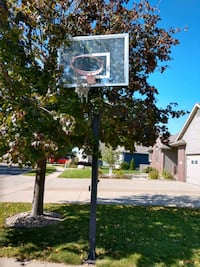 adjustable basketball hoop and backboard Sioux Falls
