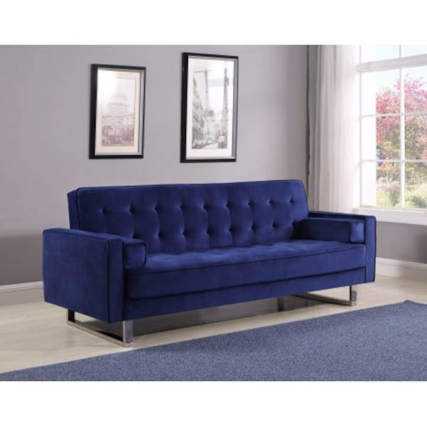 Used Blue glam Sofa Bed for sale in Las Vegas - letgo