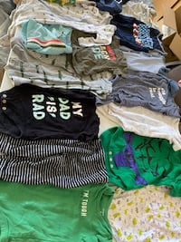 HUGE lot of baby boy clothes polo carters gap & more EVERYTHING U NEED