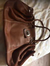 women's brown leather tote bag New York, 11229