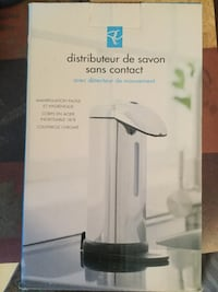 Soap dispenser. 18/8 stainless steel . Brand new never used  Oakville, L6H 3J9