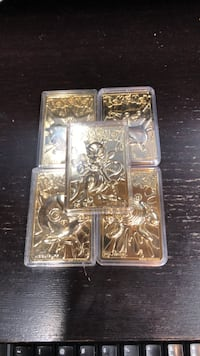 Five Pokémon 23k Gold Plated Cards  Lancaster, 17603