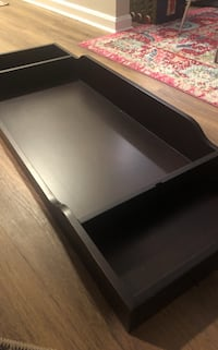 Espresso Changing tray with mat