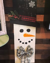 Custom made snowman sign Mount Airy, 21771