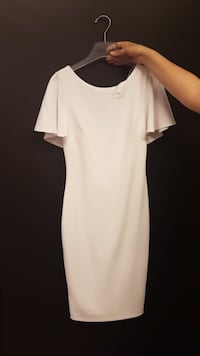 White Calvin Klein Dress Mississauga, L5M 6V7