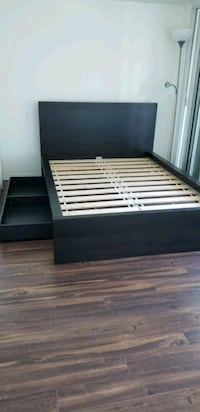 Double bed frame with large drawer Toronto, M5E 1R4